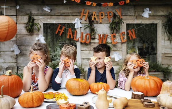 pumpkin themed kids party