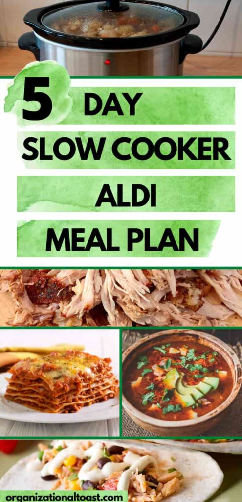 5 Day Slow Cooker Aldi Meal Plan
