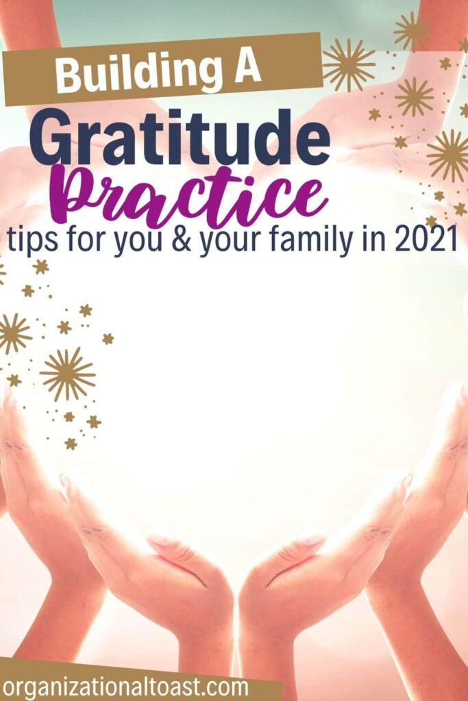 how to build a gratitude practice