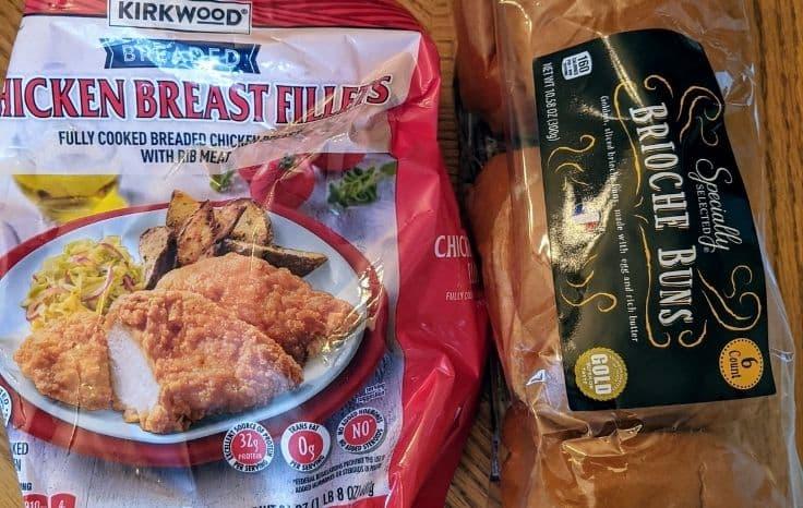 Chicken Sandwich Ingredients